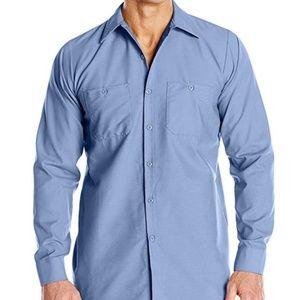 Red Kap Men's Industrial Work Shirt, Regular Fit